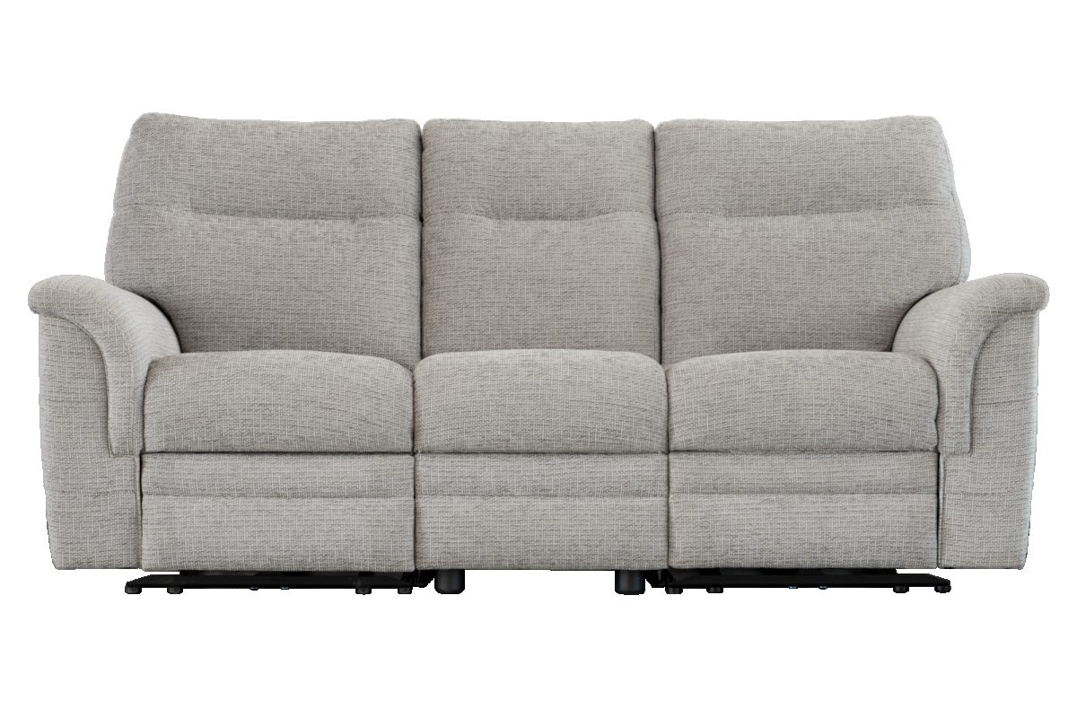 Hudson Three Seater Front Fabric