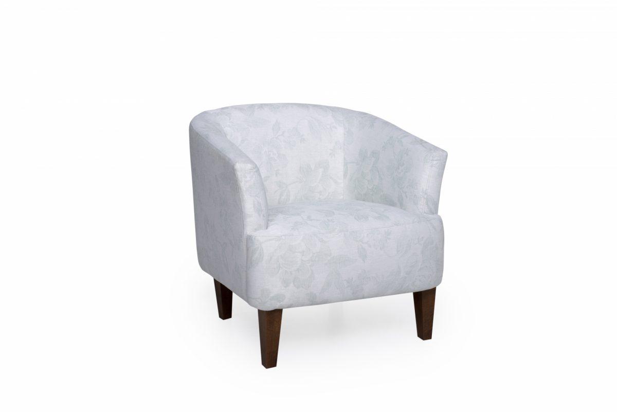 Cyrus Chair Dagano Floral Sapphire
