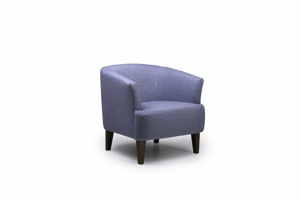 Cyrus Chair Reda 161 Light Blue Side