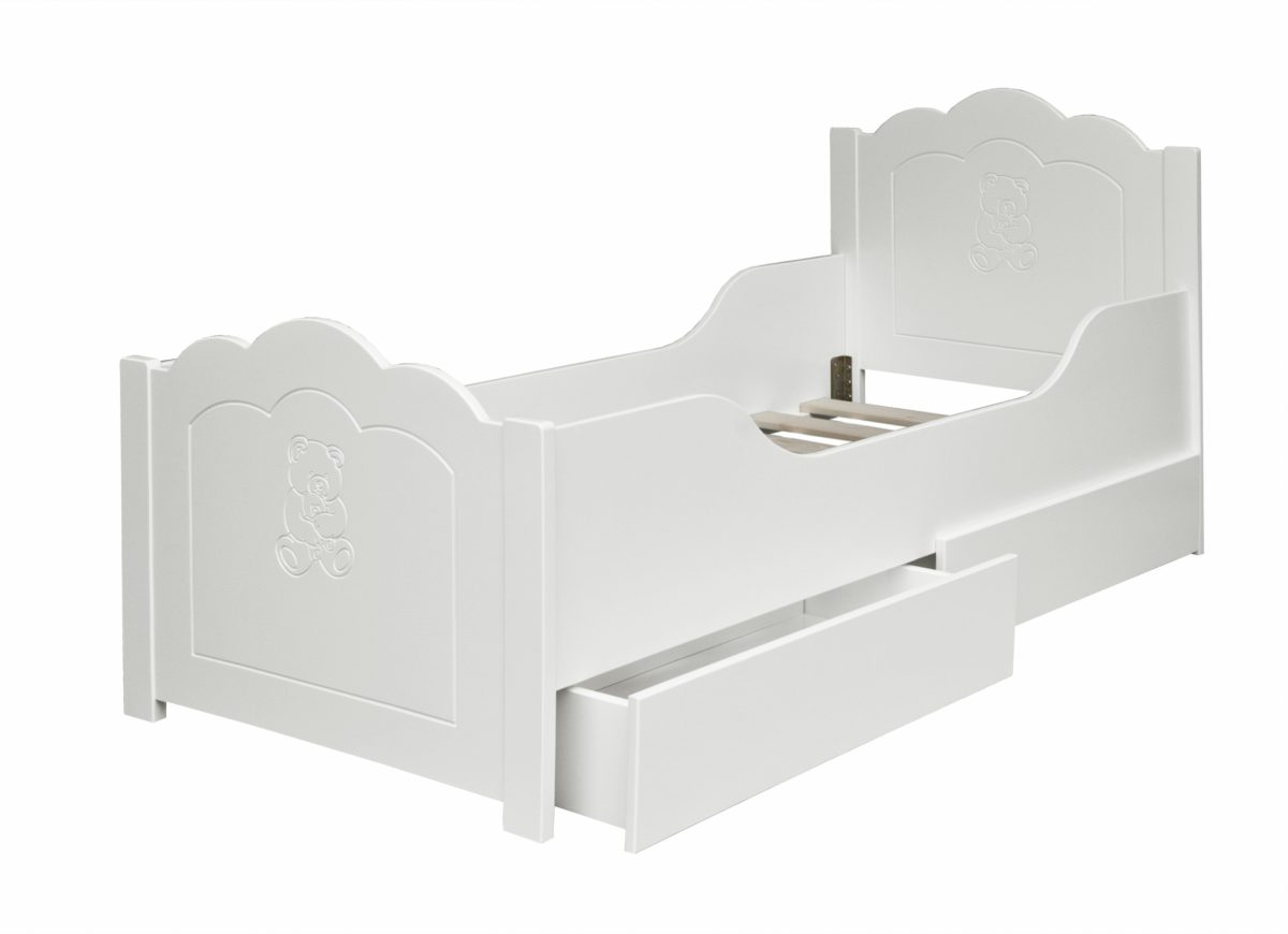 Elfin Junior Bed White