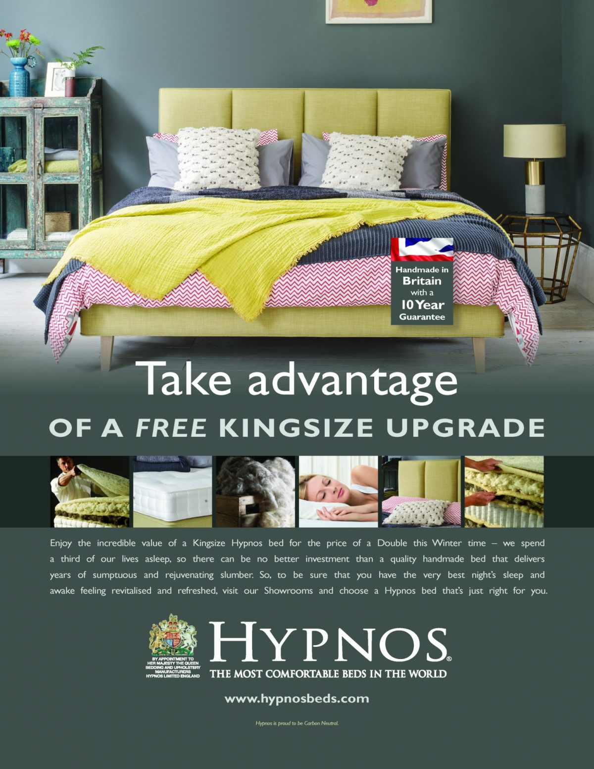Hypnos Winter King Double Retailer Ad 210X2973439