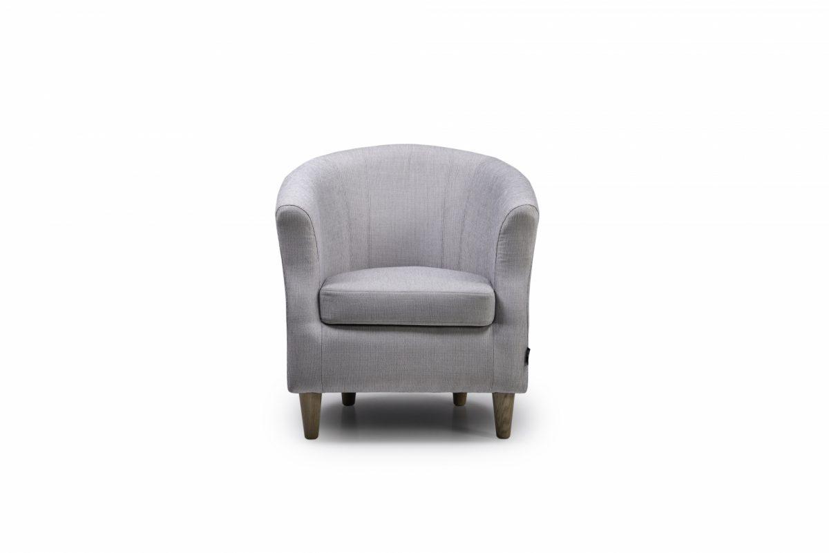 Jayne Chair Ocean 22 Silver Front