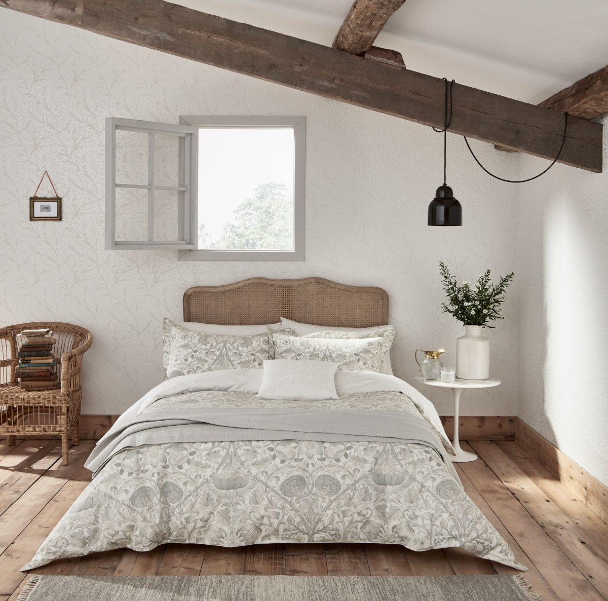 Morris Pure Lodden Main Bed Hr