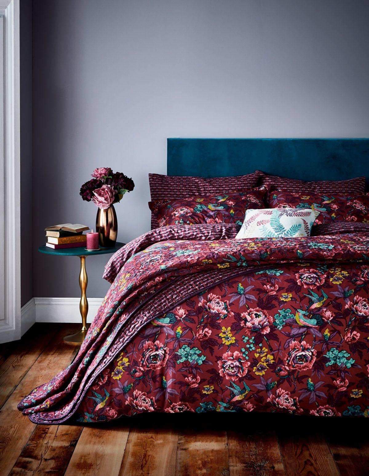 Va Oriental Peony Main Bed Hr
