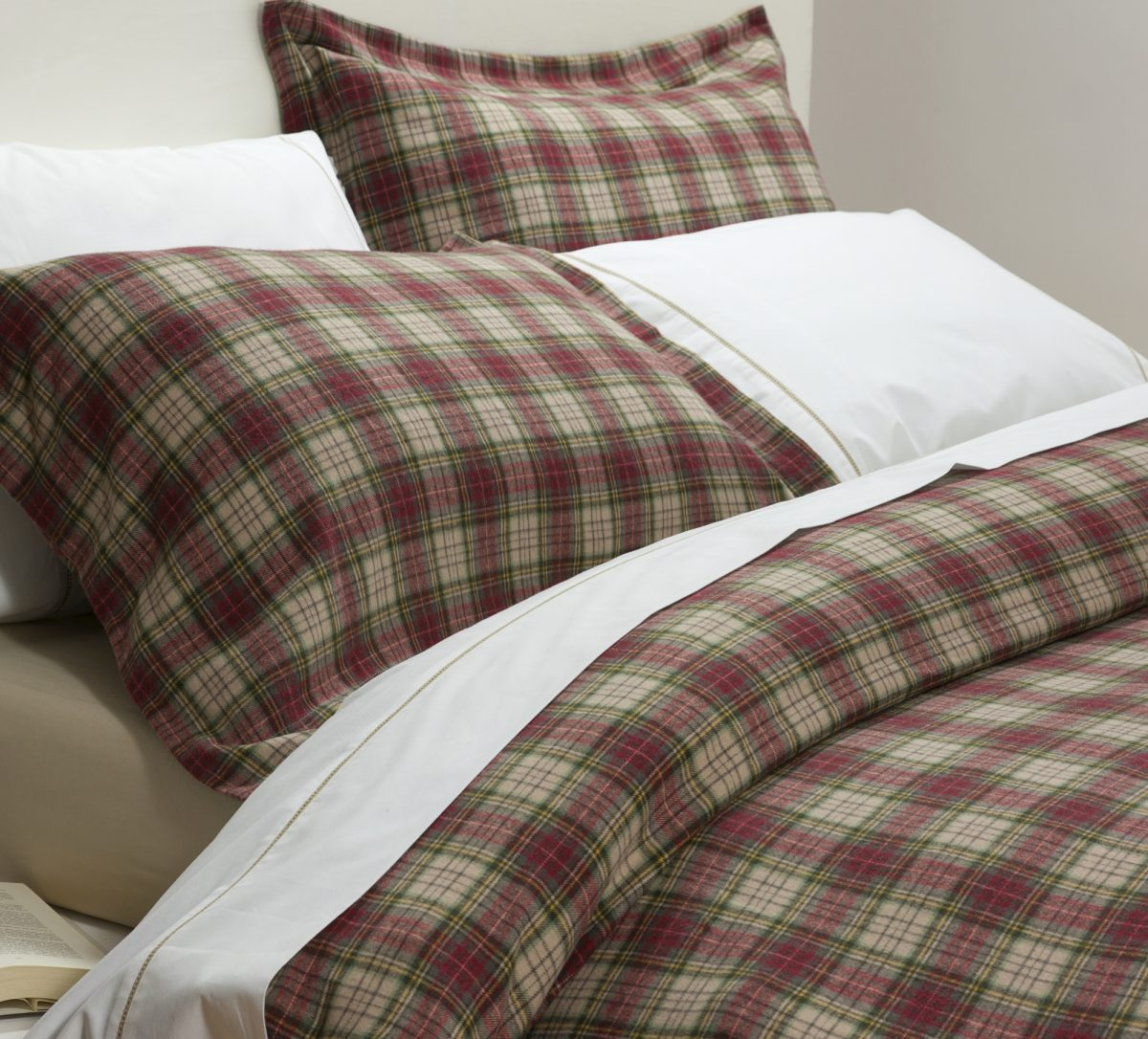 Winton Red Duvet Covers