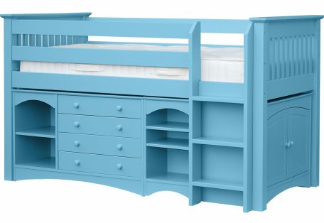 Elfin Mid Sleeper Ocean Blue
